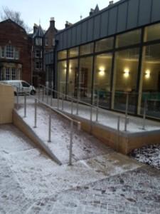 University of Edinburgh - Stainless Steel Handrail